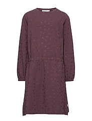 Dress Henrietta - SOFT EGGPLANT