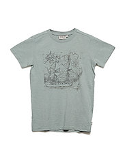 T-Shirt Ship SS - LEAD BLUE