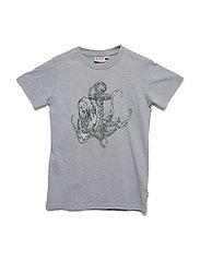 T-Shirt Anchor Octopus SS - DOVE