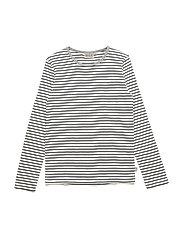 T-Shirt Striped LS - NAVY