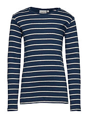 T-Shirt Striped LS - INDIGO
