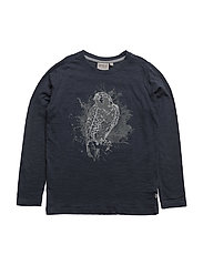 T-Shirt Eagle LS - MIDNIGHT NAVY