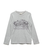 T-Shirt World Champion LS - MELANGE GREY