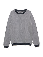 Knit Pullover Leonard - GREYBLUE