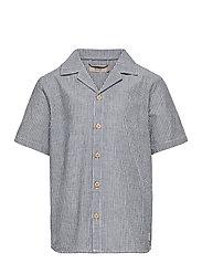 Shirt Anker SS - COOL BLUE STRIPE