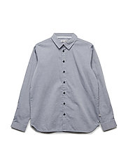 Shirt Pelle LS - NAVY