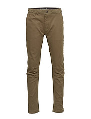 Trousers Slim Orla - ARMY LEAF