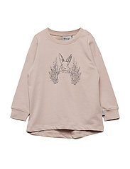 T-Shirt Flying Rabbit - ROSE POWDER