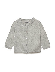 Knit Cardigan Maja - MELANGE GREY