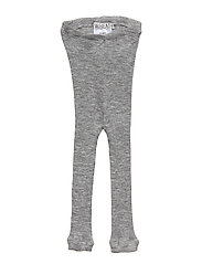Wool Rib Leggings - MELANGE GREY