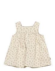 Dress Ayla - EGGSHELL FLOWERS