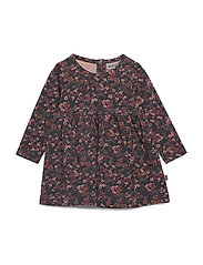 Dress Otilde - PETROLEUM FLOWERS