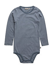 Body Plain LS - DUSTY BLUE