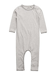Jumpsuit Thomas Langermet Bodysuit Grå WHEAT