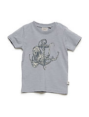 T-Shirt Anchor Octopus SS - DOVE