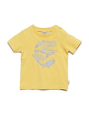 T-Shirt Whale Overview SS - YELLOW