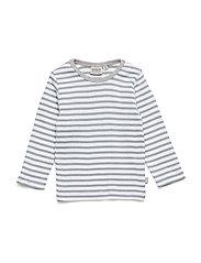 T-Shirt Striped LS - DOVE