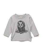 T-Shirt Bear LS - DUSTY DOVE