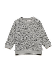 Sweatshirt Elvis - MELANGE GREY