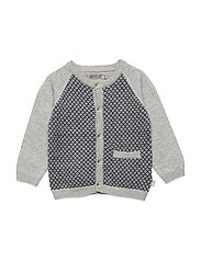 Knit Cardigan Herbert - NAVY