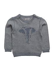 Knit Silhouette - ELEPHANT