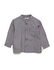Shirt Pocket LS - GREYBLUE