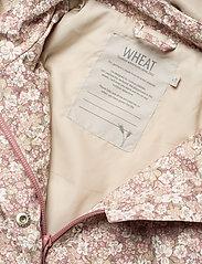 Wheat - Jacket Ada Tech - softshell jassen - rose flowers - 4