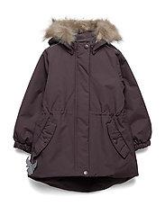 Jacket Mona - EGGPLANT