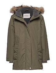 Jacket Elice - ARMY LEAF
