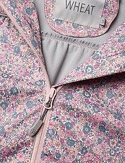 Wheat - Softshell Jacket Gilda - softshell jacket - eggshell flowers - 5