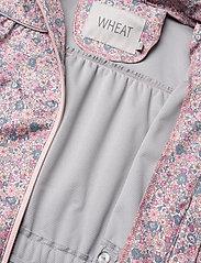 Wheat - Softshell Jacket Gilda - softshell jacket - eggshell flowers - 7