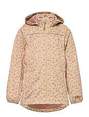 Softshell Jacket Gilda - SOFT BEIGE FLOWERS