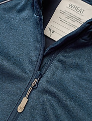 Wheat - Softshell Jacket Eddie - softshell-jakker - blue melange - 2