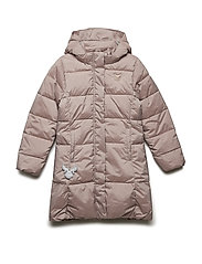 Down Coat Aima - POWDER MELANGE