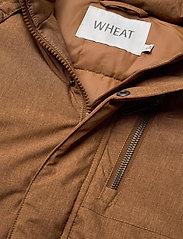 Wheat - Down Jacket Bertil - dunjakker & forede jakker - caramel melange - 7