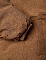 Wheat - Down Jacket Bertil - dunjakker & forede jakker - caramel melange - 8
