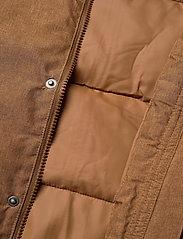 Wheat - Down Jacket Bertil - dunjakker & forede jakker - caramel melange - 9