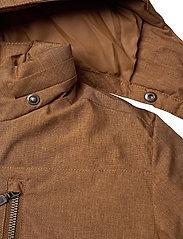 Wheat - Down Jacket Bertil - dunjakker & forede jakker - caramel melange - 10