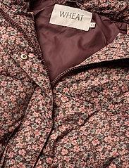 Wheat - Down Jacket Kamma - dunjakker & forede jakker - eggplant flowers - 6
