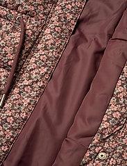 Wheat - Down Jacket Kamma - dunjakker & forede jakker - eggplant flowers - 10
