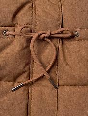 Wheat - Down Jacket Kamma - puffer & padded - caramel melange - 9