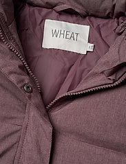 Wheat - Down Jacket Kamma - puffer & padded - eggplant melange - 10