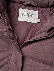 Wheat - Down Jacket Kamma - dunjakker & forede jakker - eggplant melange - 10