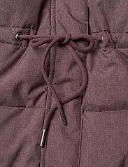 Wheat - Down Jacket Kamma - dunjakker & forede jakker - eggplant melange - 12