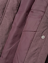 Wheat - Down Jacket Kamma - puffer & padded - eggplant melange - 13