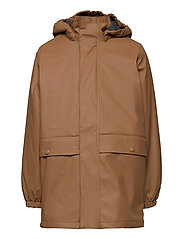 Thermo Rain Coat Ajo - CARAMEL