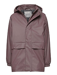 Thermo Rain Coat Ajo - EGGPLANT