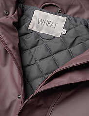 Wheat - Thermo Rain Coat Ajo - jassen - eggplant - 5