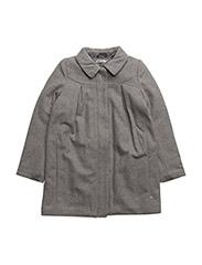 Wool Jacket Agate - MELANGE GREY