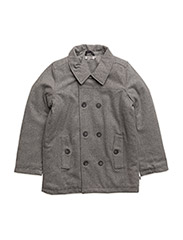 Wool Jacket Karle - MELANGE GREY